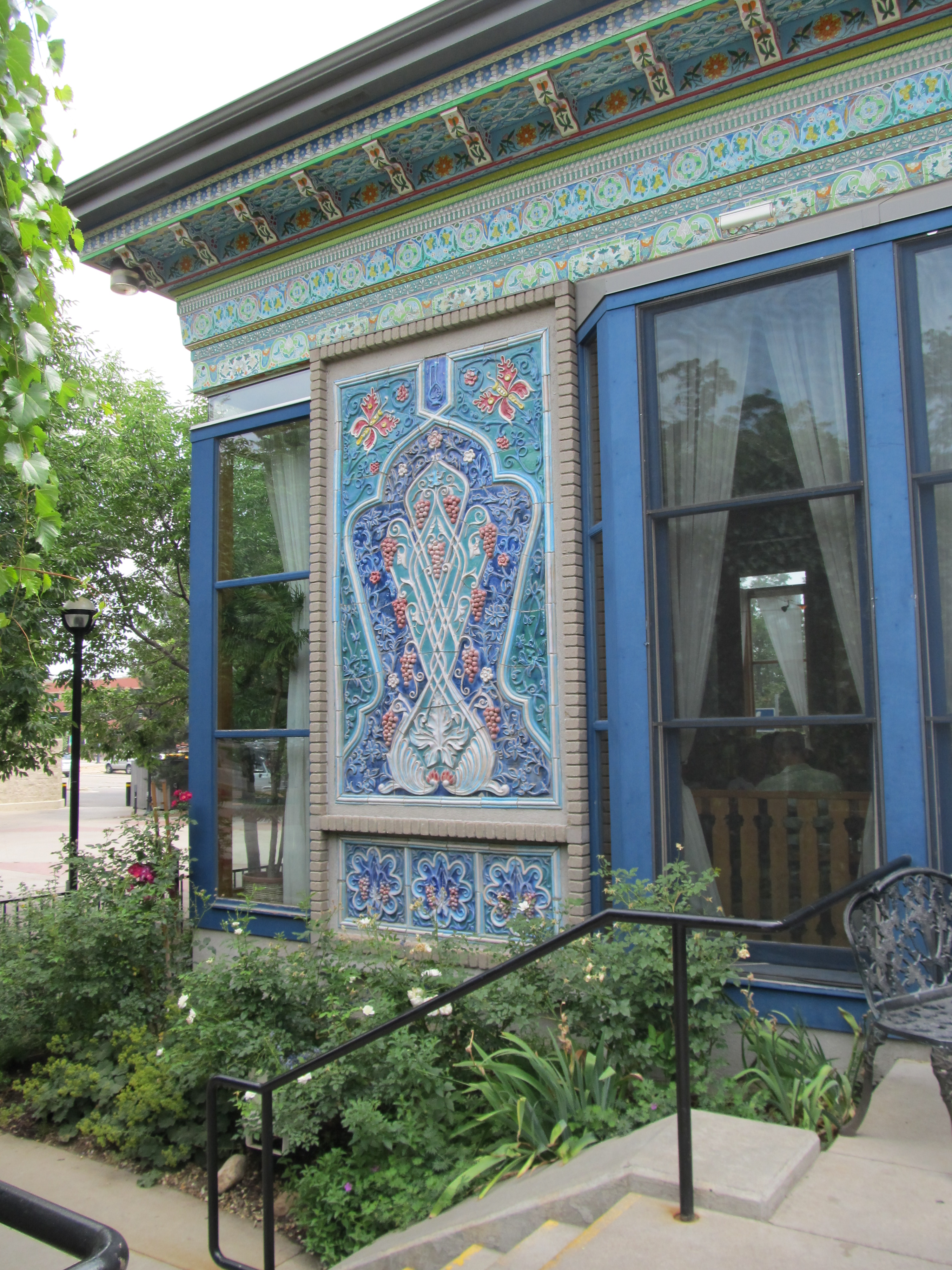 Dushanbe Teahouse Details Starlit Nights