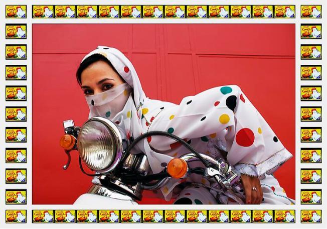 Rider by Hassan Hajjaj (source)